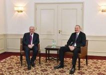 Azerbaycan Cumhurbaşkanı İlham Aliyev Başbakan Yıldırım ile görüştü - Gallery Thumbnail