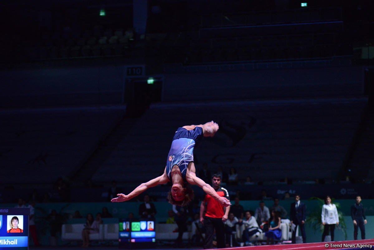 Azerbaijani gymnast reaches finals at FIG World Cup in Baku (PHOTO) - Gallery Image
