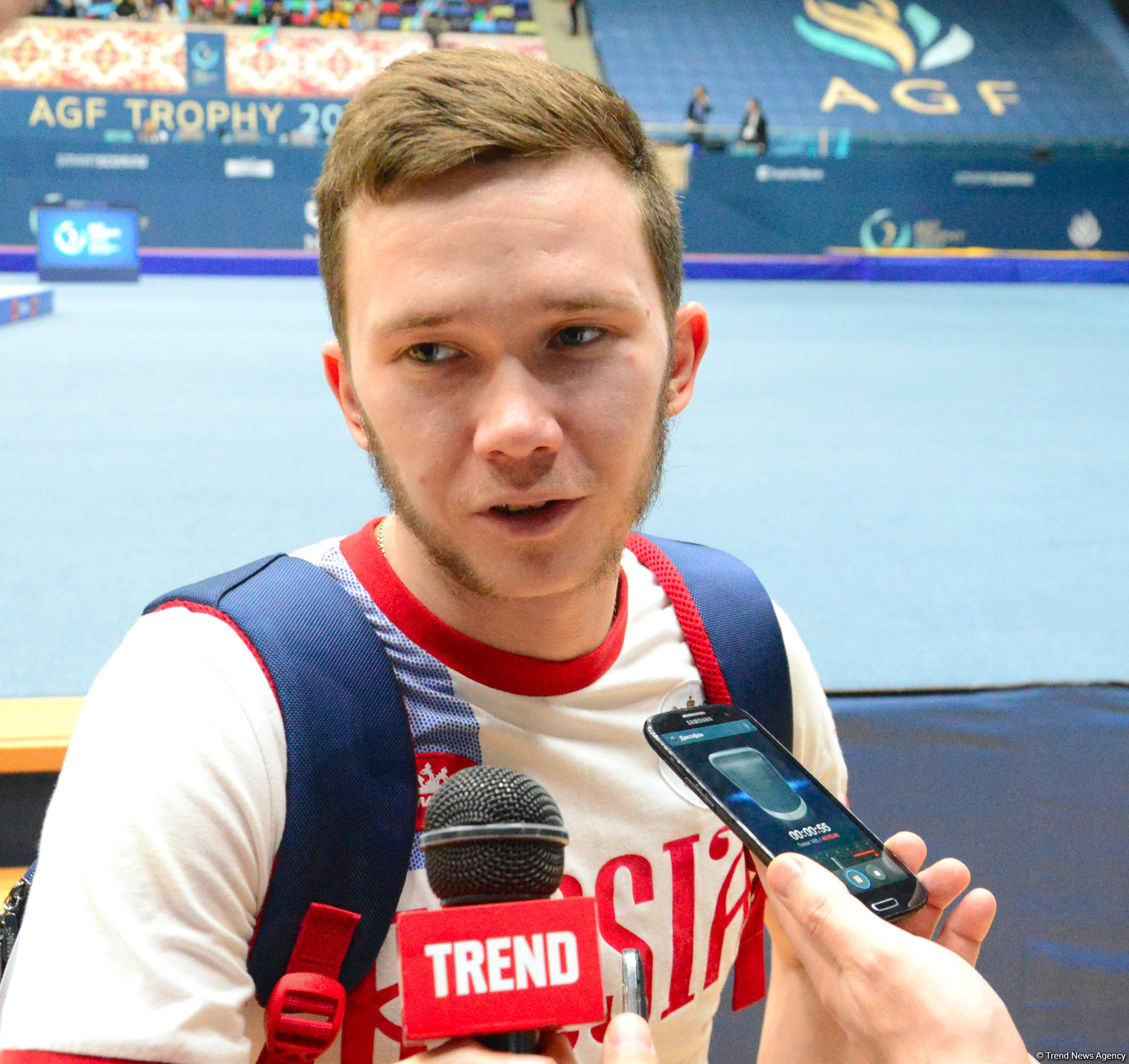 Russian gymnast looks forward to summer competitions in Baku