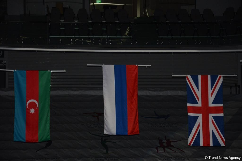 Winners of World Cup tumbling event awarded in Baku (PHOTO) - Gallery Image