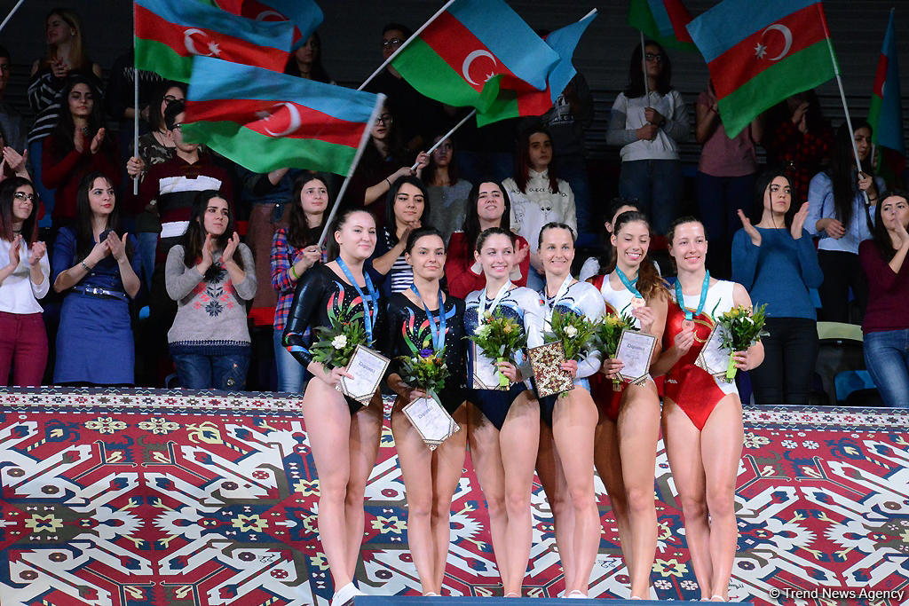 World Cup in Trampoline Gymnastics and Tumbling wraps up in Baku (PHOTOS) - Gallery Image