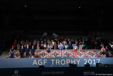 Winners of World Cup tumbling event awarded in Baku (PHOTO) - Gallery Thumbnail