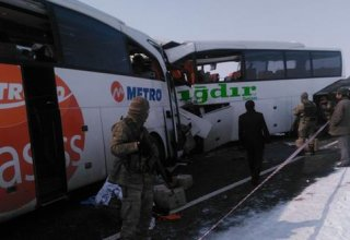 Eight killed as 2 buses collide in Turkey's Igdir (PHOTO/VIDEO)