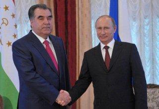 Путин и Рахмон обсудят ситуацию на таджикско-киргизской границе