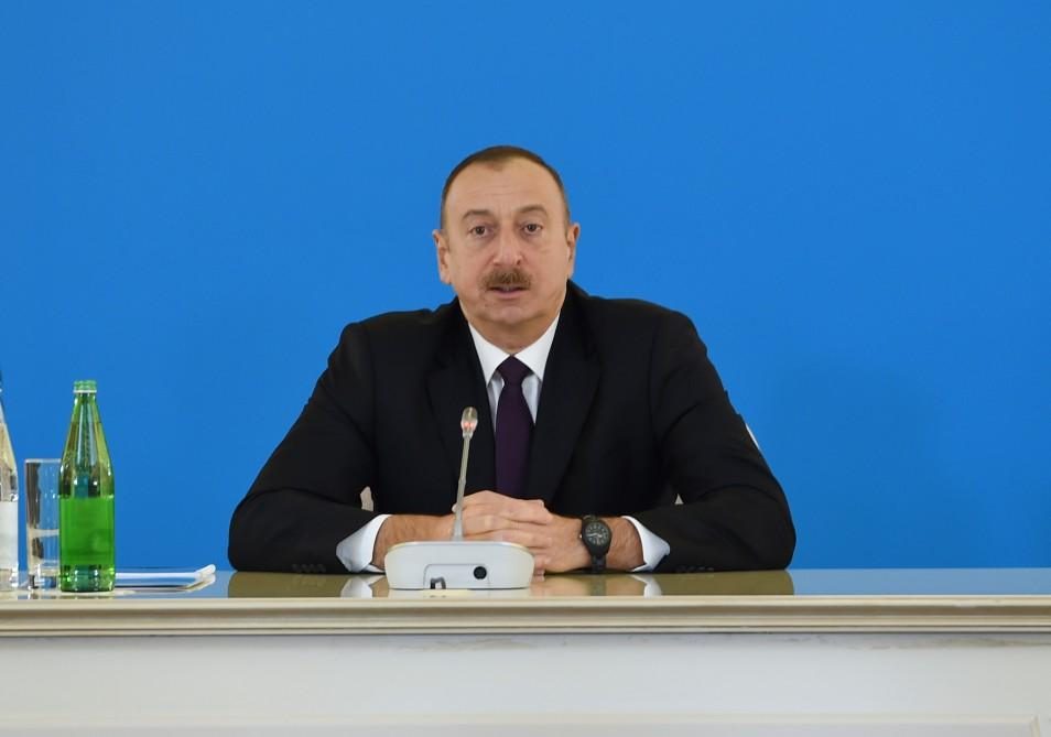 Ilham Aliyev: SGC – issue of energy security and energy security is national security of countries  (PHOTO) (UPDATE) - Gallery Image