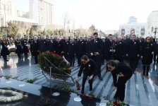 Ilham Aliyev, First VP Mehriban Aliyeva take part in march on 25th anniversary of Khojaly genocide (PHOTO) - Gallery Thumbnail