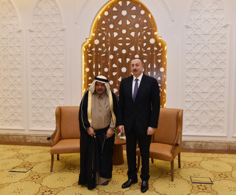 Ilham Aliyev met with chairman of Al Faisal Holding and Qatari Businessmen Association in Doha - Gallery Image