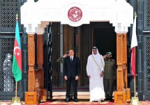 Official welcome ceremony held for Ilham Aliyev in Qatar (PHOTO) - Gallery Thumbnail