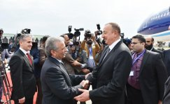 Ilham Aliyev in Pakistan for Summit of the Economic Cooperation Organization (PHOTO) - Gallery Thumbnail