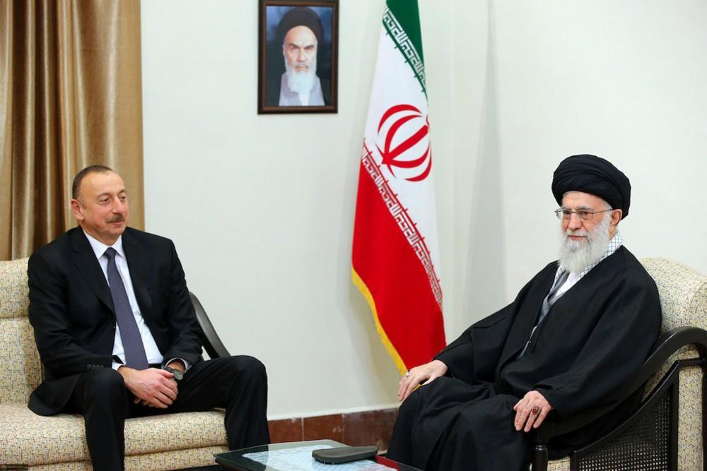 President Aliyev meets Iran's Supreme Leader (PHOTO) - Gallery Image