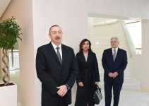Azerbaijan's president, first lady attend Heart Center opening in Baku (PHOTO) - Gallery Thumbnail