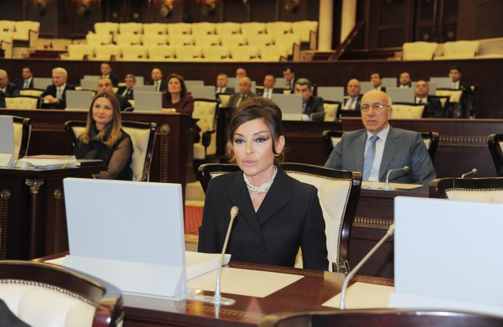 First VP Mehriban Aliyeva: It was great honor for me to be MP (PHOTO) - Gallery Image