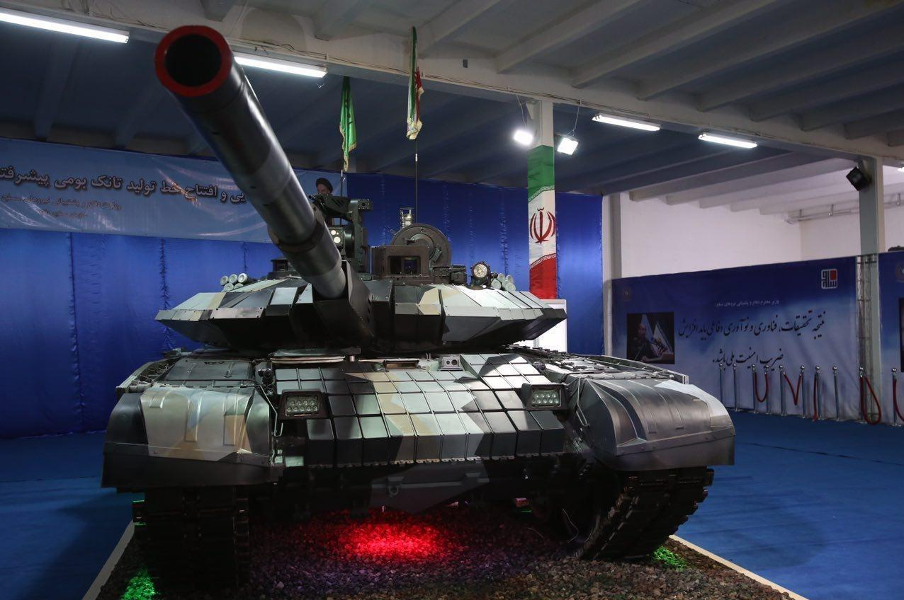 Iran unveils new home-made tank (PHOTO) - Gallery Image