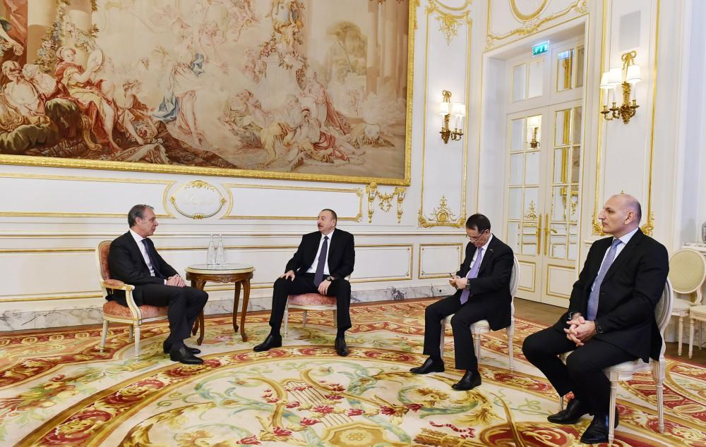 Ilham Aliyev meets CIFAL Group CEO in France (PHOTO) - Gallery Image