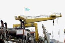 В Азербайджане ремонтируется бельгийское судно (ФОТО) - Gallery Thumbnail