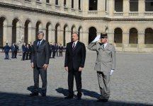 Official welcome ceremony held for President Aliyev in Paris (PHOTO) - Gallery Thumbnail