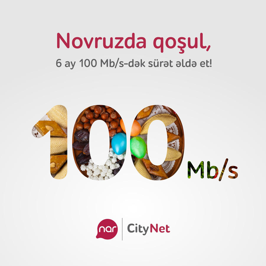 """""""Nowruz gift"""" from Nar-CityNet"""