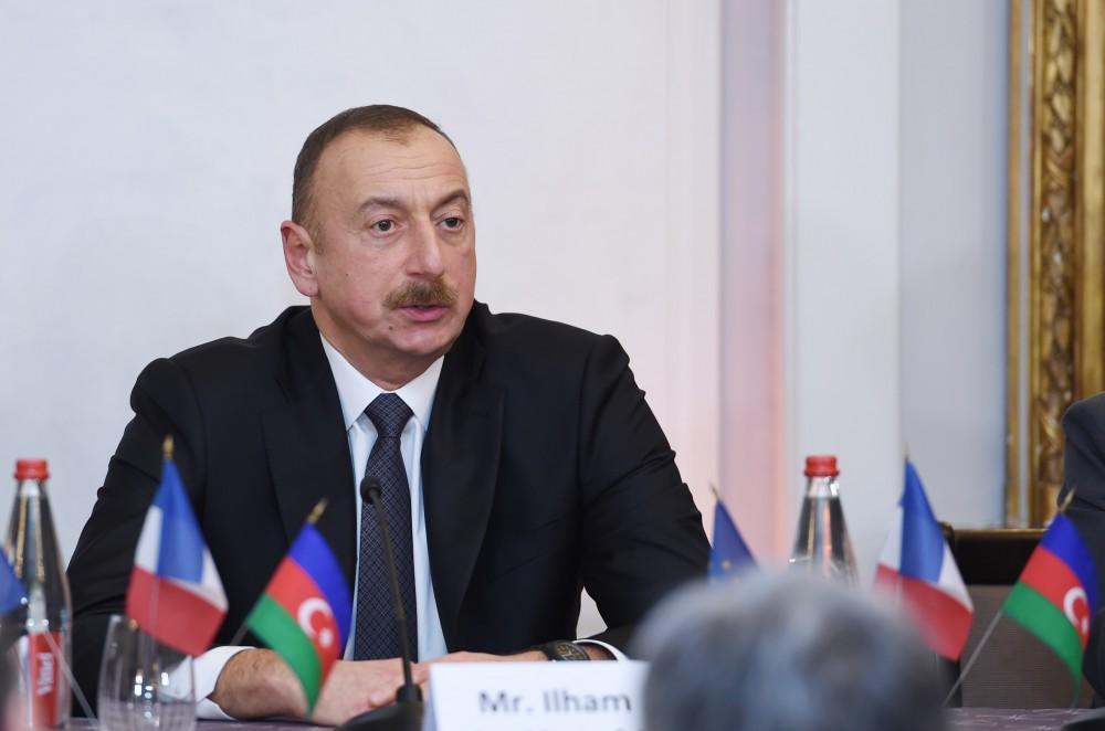 Ilham Aliyev: Armenian president better focus on terrible economy, not telling tales