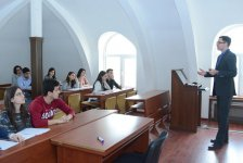 Polish professors deliver lectures to UNEC students (PHOTO) - Gallery Thumbnail