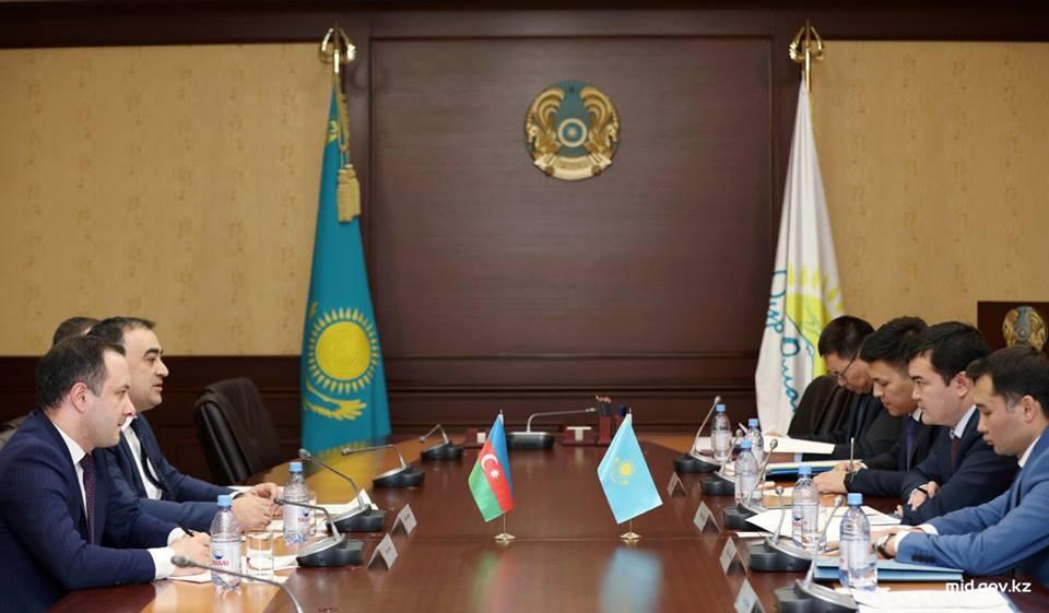 Qazaxıstan Azərbaycanın ixracatçı şirkətlərinin ticarət missiyasını qarşılamağa hazırdır (FOTO) - Gallery Image