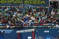 Стартовал второй день соревнований Кубка мира по спортивной гимнастике в Баку (ФОТО) - Gallery Thumbnail