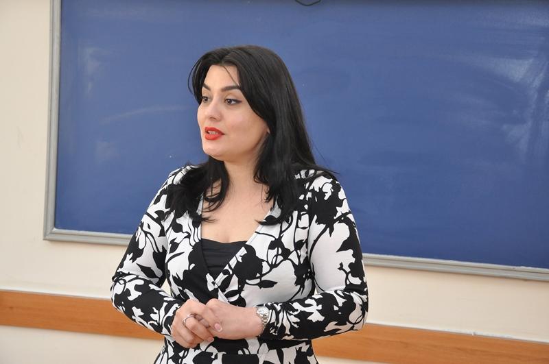 """ADU-da """"Əziz Əliyev dövlət xadimi kimi"""" mövzusunda tematik dərs (FOTO) - Gallery Image"""