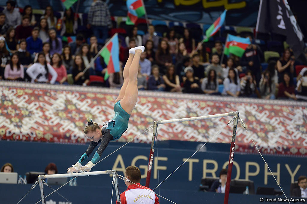 Best moments of Day 3 of FIG World Cup in Baku (PHOTO)