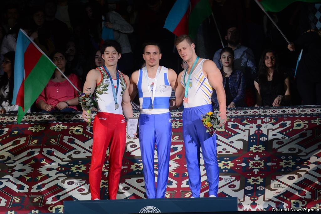 Best moments of Day 3 of FIG World Cup in Baku (PHOTO) - Gallery Image