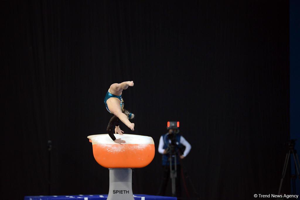 Третий день соревнований Кубка мира по спортивной гимнастике в Баку (ФОТОРЕПОРТАЖ) - Gallery Image