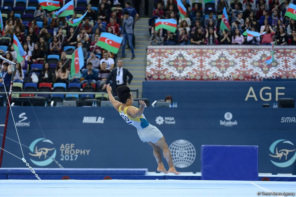 В Баку стартовал первый день финалов Кубка мира по спортивной гимнастике (ФОТО) - Gallery Image