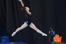 Bakıda idman gimnastikası üzrə Dünya Kubokunun dördüncü günü FOTOLARDA - Gallery Thumbnail