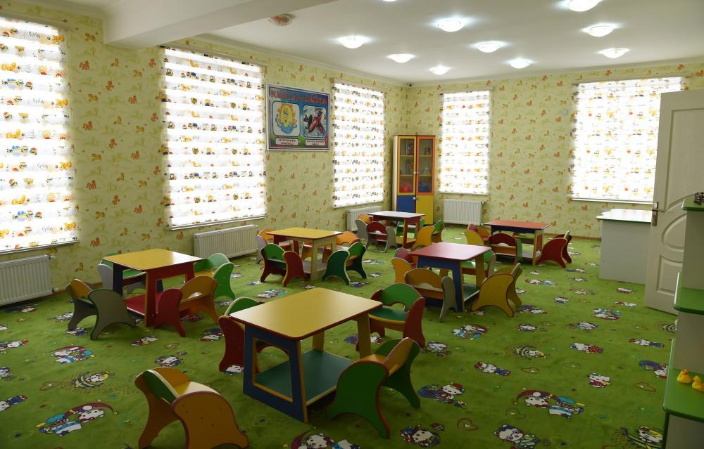 Ilham Aliyev opens orphanage-kindergarten in Saatli (PHOTO) - Gallery Image