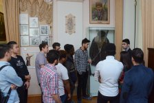 UNEC's foreign students visit Samad Vurgun's home-museum (PHOTO) - Gallery Thumbnail