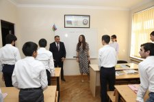 Heydar Aliyev Foundation VP visits special boarding schools for physically disabled children (PHOTO) - Gallery Thumbnail