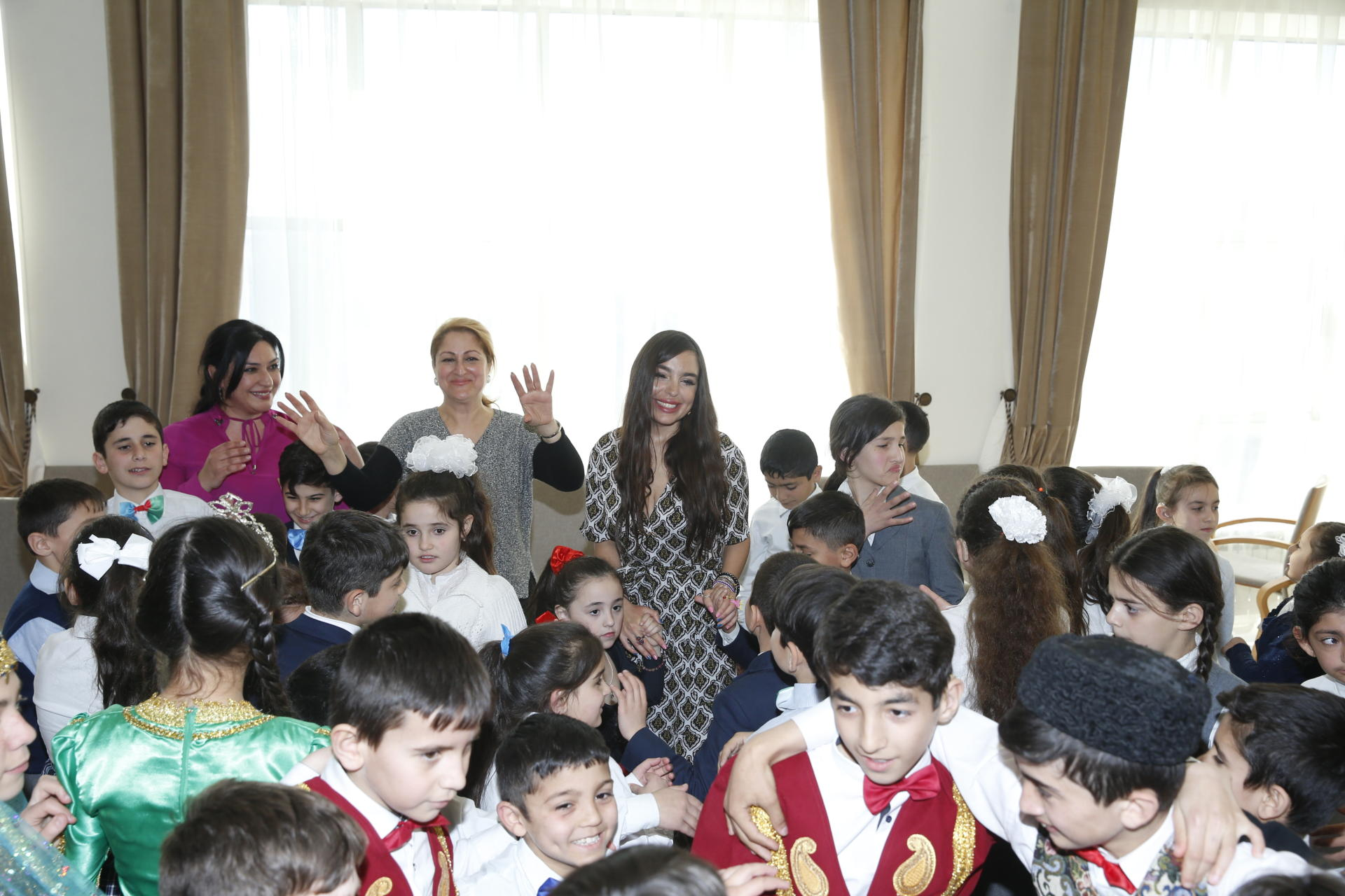 Heydar Aliyev Foundation VP visits special boarding schools for physically disabled children (PHOTO) - Gallery Image