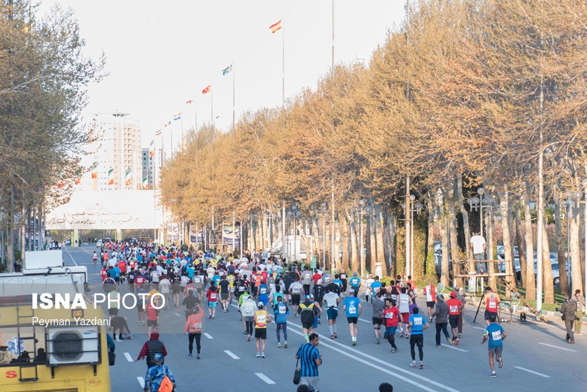 Iran holds 1st Int'l marathon, separating men and women (PHOTO) - Gallery Image