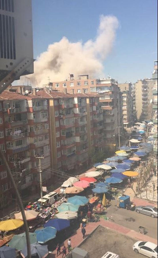 Strong blast in Turkey: 4 people injured (PHOTO/VIDEO) (UPDATING) - Gallery Image