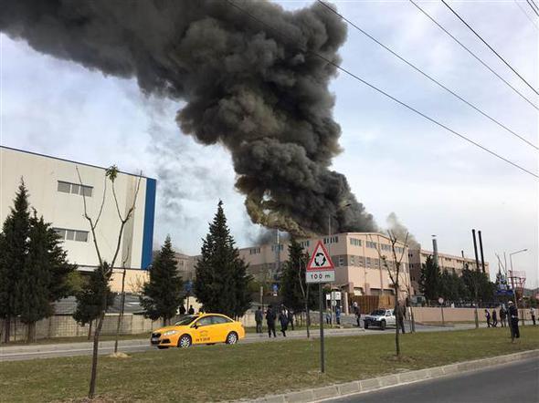 Tekirdağ'da fabrikada patlama - Gallery Image