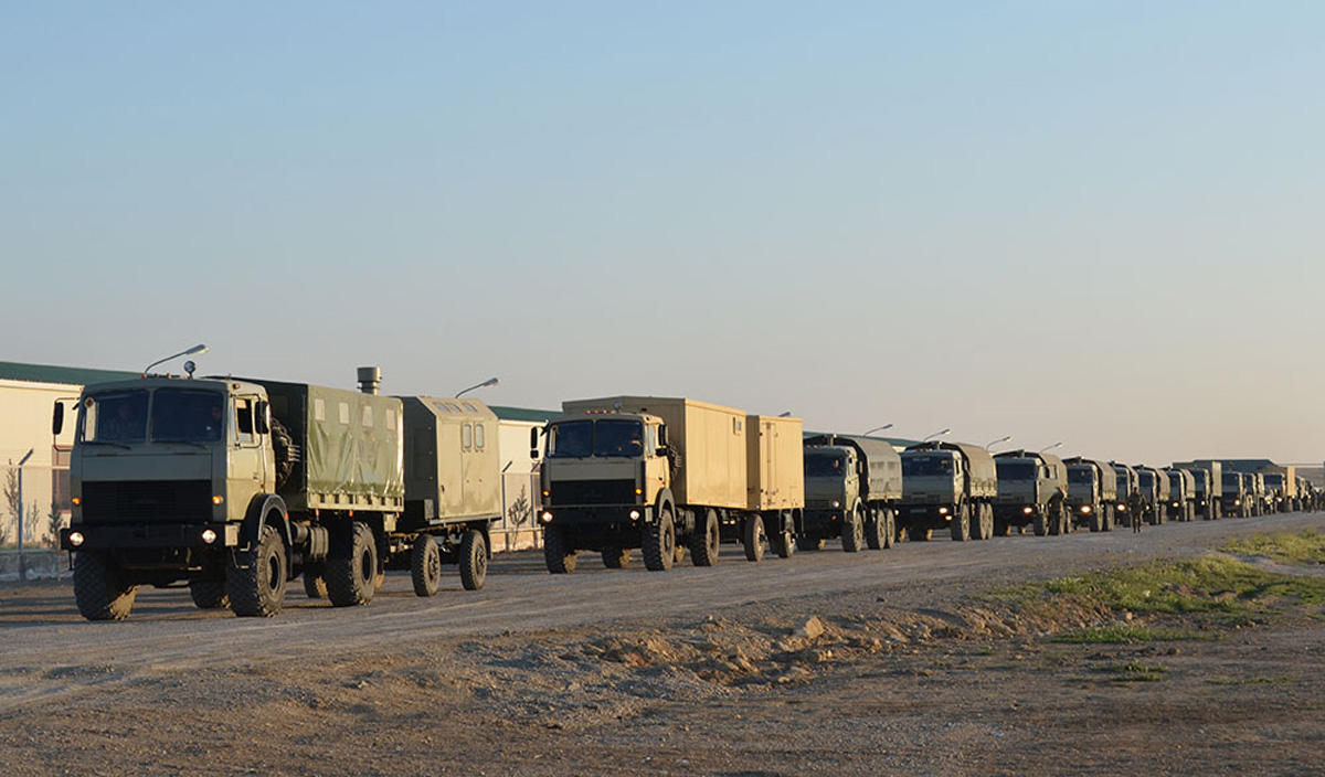 Azerbaijani troops continue drills (PHOTO,VIDEO) - Gallery Image