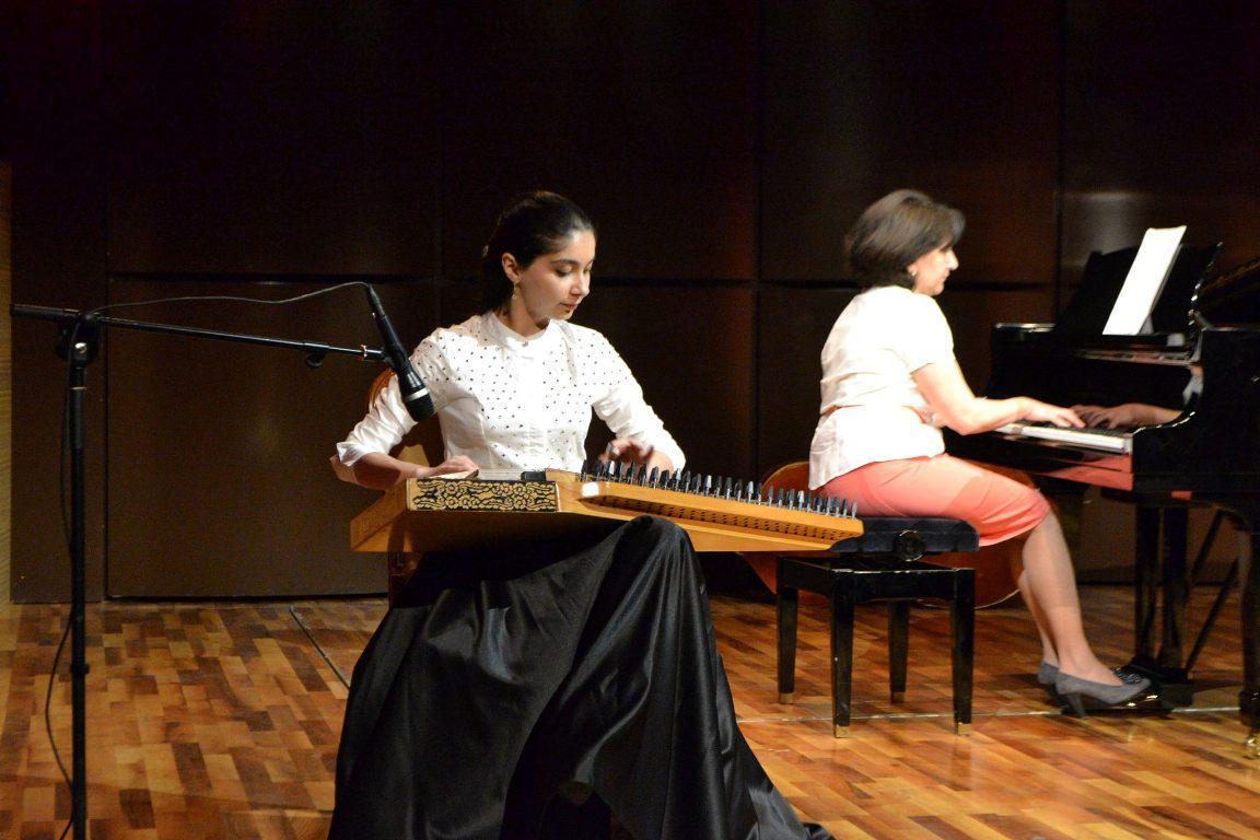 Талантливые юные музыканты на сцене Международного центра мугама  (ФОТО) - Gallery Image
