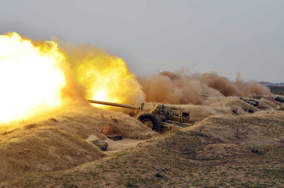 Armenian Armed Forces fire at Azerbaijani positions on state border - MoD