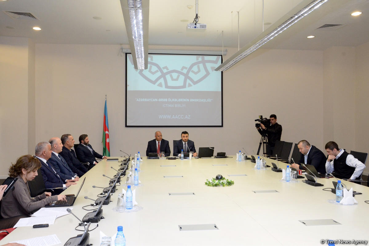 """""""Cooperation of Azerbaijan and Arab Countries"""" Public Association created in Azerbaijan (PHOTO) - Gallery Image"""