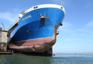 Azerbaijani Balakan ferry repaired and put into operation