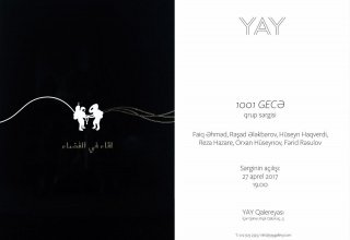 """""""1001 Nights"""" exhibition opens in YAY Gallery"""