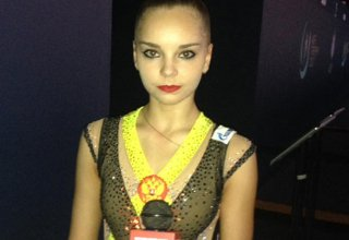 Russian gymnast expects to perform well in Baku World Cup finals