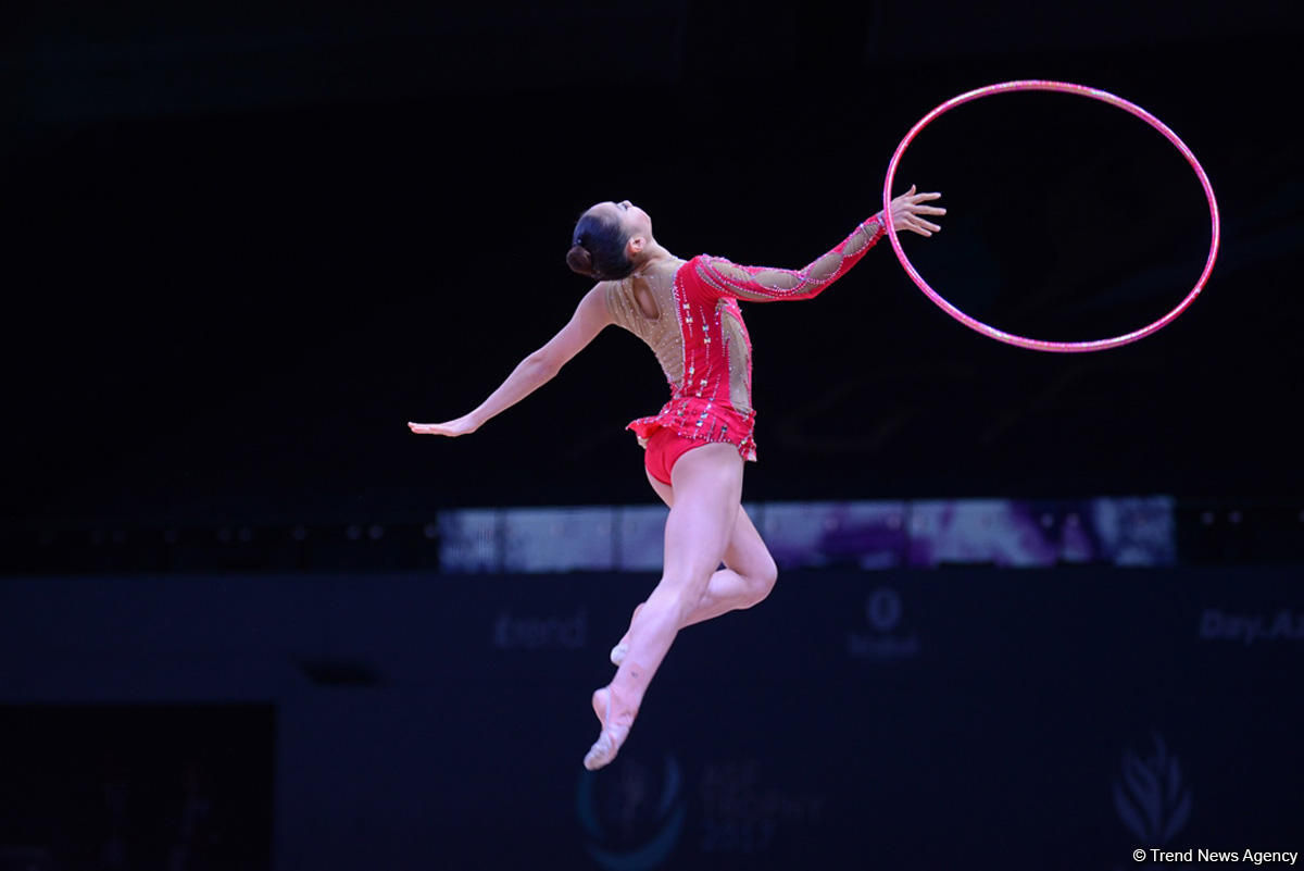 FIG World Cup in Baku announces finalists of hoop, ball events