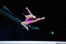 Стартовали финалы Кубка мира по художественной гимнастике в Баку (ФОТО) - Gallery Thumbnail