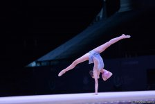 Griskenas pleased with performance at FIG Rhythmic Gymnastics World Cup in Baku (PHOTO) - Gallery Thumbnail