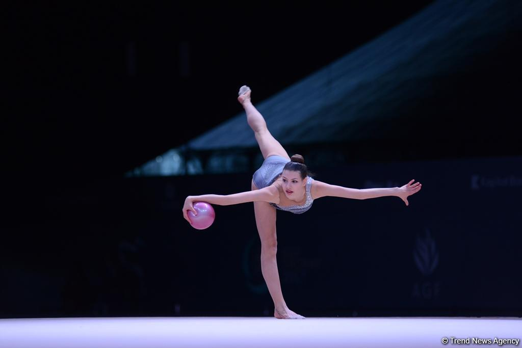 Griskenas pleased with performance at FIG Rhythmic Gymnastics World Cup in Baku (PHOTO)