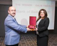 """Bank of Baku """"Böhran dövründə yeni məhsul və xidmətlər təklif edən ən qabaqcıl təşkilat"""" nominasiyasının qalibidir (FOTO) - Gallery Thumbnail"""